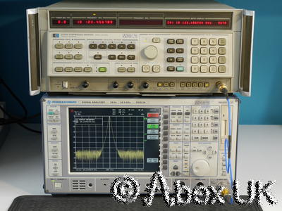 HP (Agilent) 8340A 10MHz - 26.5GHz Synthesised Sweep Signal Generator (1)