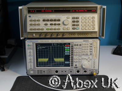 HP (Agilent) 8340B 10MHz - 26.5 GHz Synthesised Signal Generator (1)