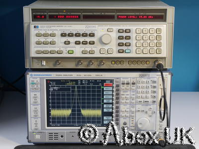 HP (Agilent) 8341A 10MHz - 20GHz Synthesised Sweep Signal Generator (1)