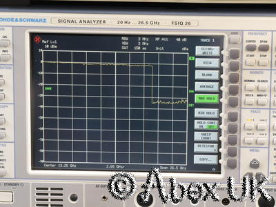 HP (Agilent) 8341A 10MHz - 20GHz Synthesised Sweep Signal Generator (2)