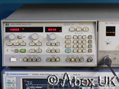 HP (Agilent) 8350A & 86290C 2-18.6GHz Sweep Signal Generator (5)