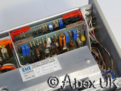 HP (Agilent) 8350B & 86260A & 11869A 12-18GHz Sweep Signal Generator (5)