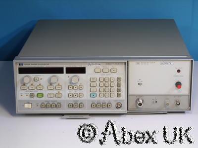 HP (Agilent) 8350B & 86250D 8-12.4GHz Sweep Signal Generator (3)