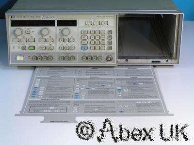 HP (Agilent) 8350B Sweeper / Signal Generator Mainframe