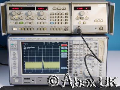HP (Agilent) 8350B & 83590A 2-20GHz Sweep Signal Generator Step Attenuator (2)