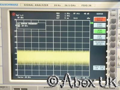 HP (Agilent) 83592C RF Plug-in 10MHz - 20GHz (for 8350B) Spares or Repair