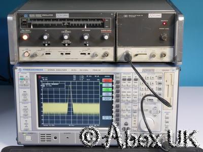 HP (Agilent) 8620C & 86241A 3.2-6.5GHz Sweep Signal Generator