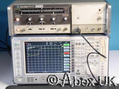 HP (Agilent) 8620C & 86242D 5.9-9.0GHz Sweep Signal Generator