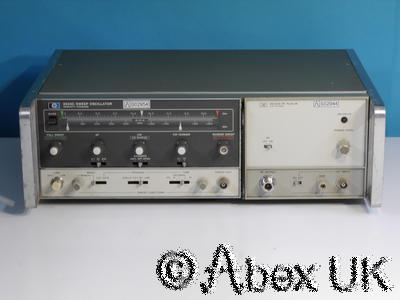 HP (Agilent) 8620C & 86242D 5.9-9.0GHz Sweep Signal Generator