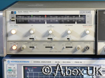 HP (Agilent) 8620C & 86230B 1.8-4.2GHz Sweep Signal Generator Spares or Repair