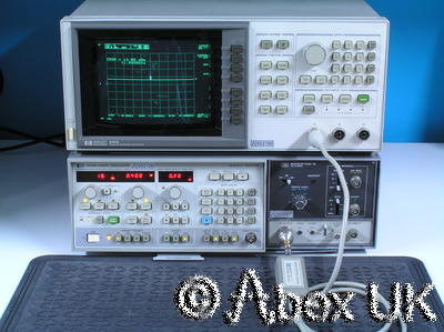 HP (Agilent) 86222B RF Plug-in 10MHz - 2.4GHz (for 8620x sweeper)