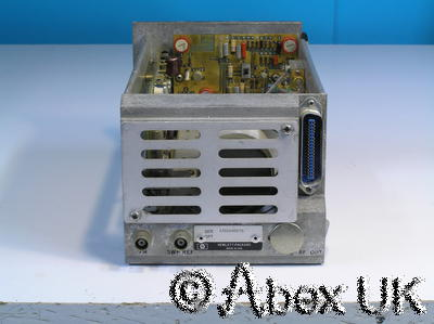 HP (Agilent) 86250A RF Plug-in 8.0 - 12.4GHz (for 8620x) Spares or Repair