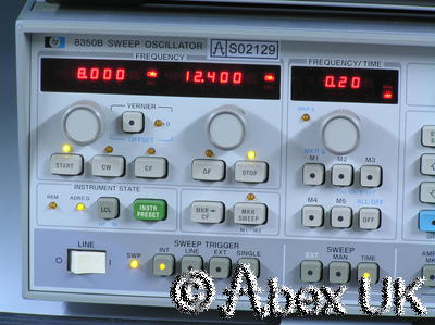 HP (Agilent) 86250D RF Plug-in 8.0 - 12.4GHz (for 8620x sweeper)