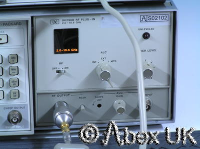HP (Agilent) 86290B RF Plug-in 2.0 - 18.6GHz (for 8620x sweeper)