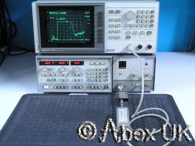 HP (Agilent) 86290B RF Plug-in 2.0 - 18.6GHz (for 8620x sweeper)