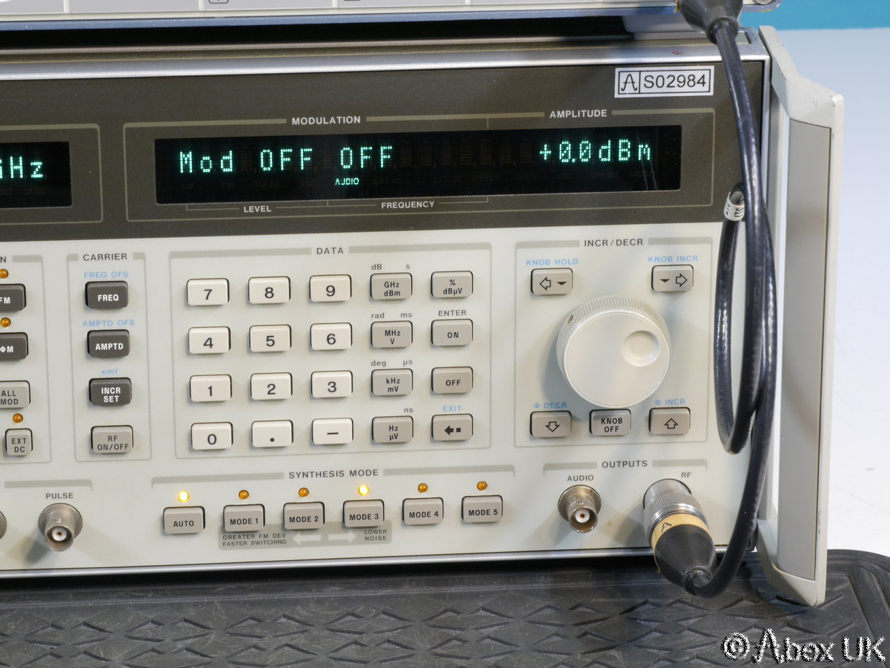 Hp Signal Generator : Hp agilent a ghz low phase noise am fm pulse signal