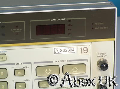 HP (Agilent) 8662A 1.28GHz Low Noise Signal Generator AM/FM/Sweep (2)