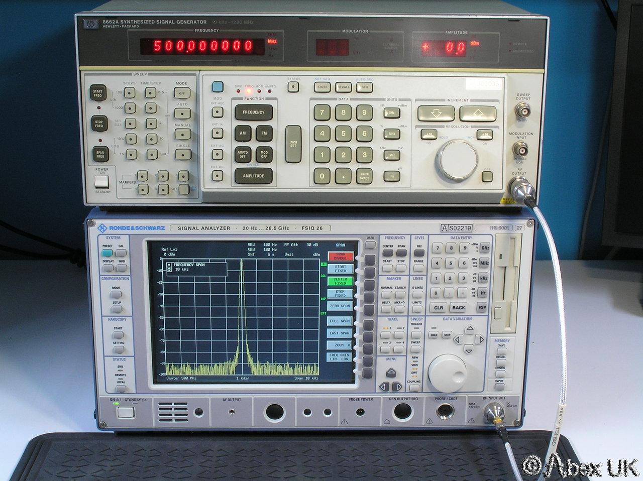 Hp Signal Generator : Hp agilent a ghz low noise signal generator am