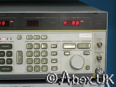 HP (Agilent) 8662A 1.28GHz Low Noise Signal Generator AM/FM/Sweep
