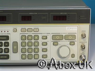 HP (Agilent) 8662A 1.28GHz Low Noise Signal Generator AM/FM/Sweep