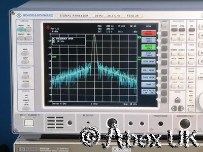 HP (Agilent) 8665B 6.0GHz Low Noise Signal Generator AM/FM Option 001, 004, 010