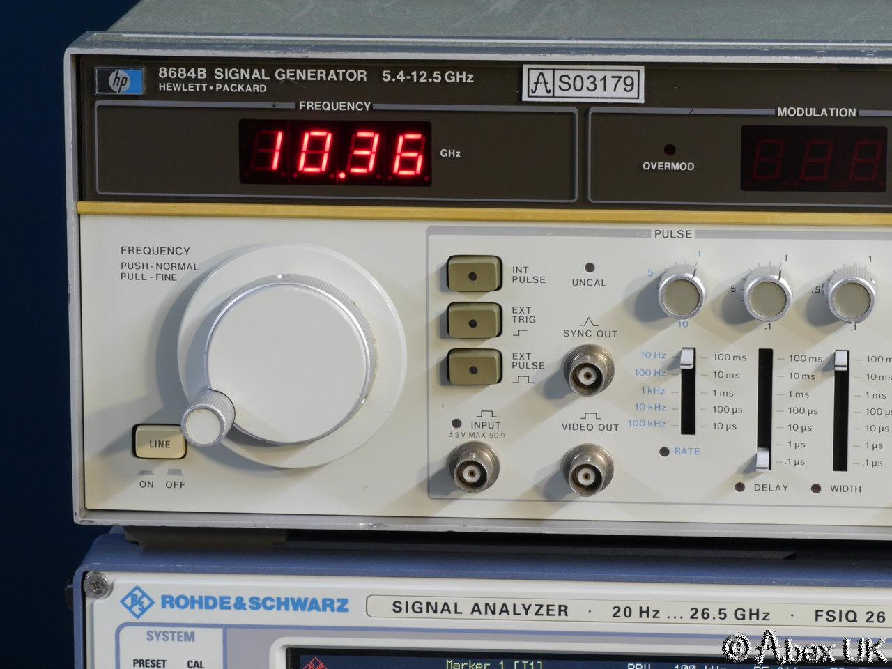 Hp Signal Generator : Hp agilent b signal generator  ghz vintage