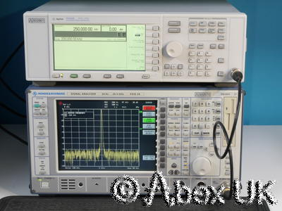 Agilent (HP) E4422B 4GHz ESG AM/FM/PM/Pulse Signal Generator