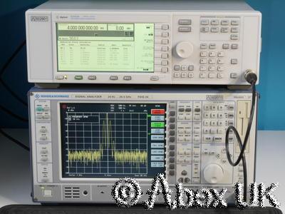 Agilent (HP) E4422B 4GHz ESG AM/FM/PM/Pulse Signal Generator