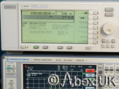 Agilent (HP) E4438C 4GHz ESG AM/FM/PM/Pulse CDMA Vector Signal Generator