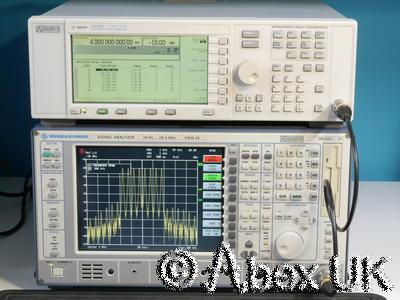 Agilent (HP) E4438C 4GHz ESG AM/FM/PM/Pulse CDMA Vector Signal Generator