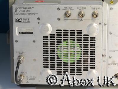 HP (Agilent) 3588A 150MHz Spectrum Analyser FFT Option 001,003 High Stab