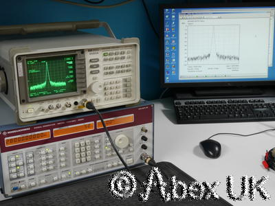 HP (Agilent) 8560A 2.9GHz Spectrum Analyser Analyzer GPIB