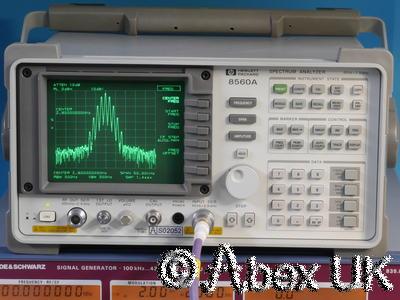 HP (Agilent) 8560A 2.9GHz Spectrum Analyser Analyzer with Tracking Generator (3)