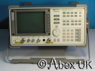 HP (Agilent) 8560A 2.9GHz Spectrum Analyser Analyzer with Tracking Generator (2)