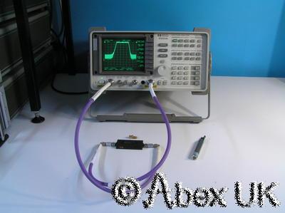 HP (Agilent) 8560A 2.9GHz Spectrum Analyser Analyzer with Tracking Generator (1)