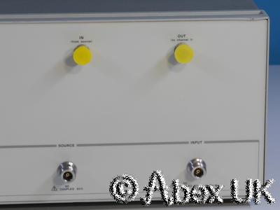 HP (Agilent) 89431A (89441A) Vector Analyser RF Section (Spares or Repair)