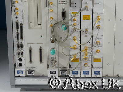 Agilent (HP) E3238S E6500A E1437A E1485C 3GHz Spectrum Analyser Survey System