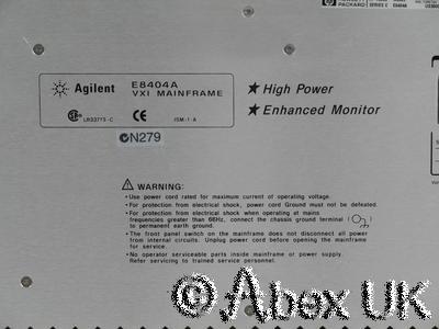 Agilent (HP) E3238S E6500A E1437A E1485C 3GHz Spectrum Analyser Survey System