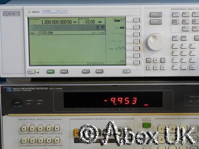 HP (Agilent) 11722A 2.5GHz Probe for 8902A Measuring Receiver