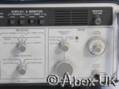 HP (Agilent) 3552A Transmission (Audio, Tube, Vintage, Classic) Test Set