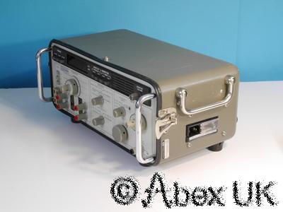 HP (Agilent) 3552A Transmission (Audio, Tube, Vintage, Classic) Test Set