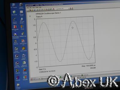 HP 8922H Radio Test Set Signal Generator Mod Analyser Digital Oscilloscope (1)
