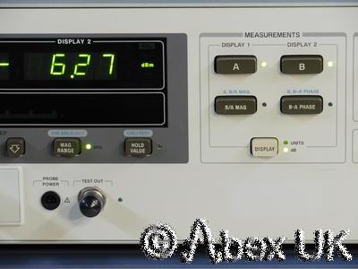 HP (Agilent) 8508A Vector Voltmeter with 85082A 2GHz Input Module