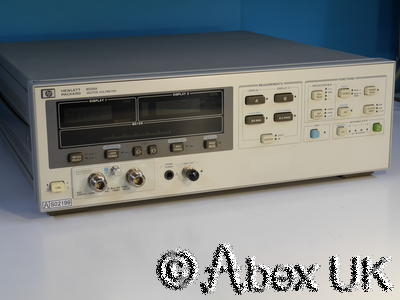 HP (Agilent) 8508A Vector Voltmeter with 85082A 2GHz Input Module