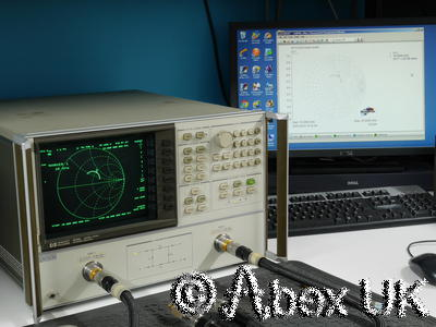 HP (Agilent) 8720A 20GHz Vector Network Analyser Option 001, 010
