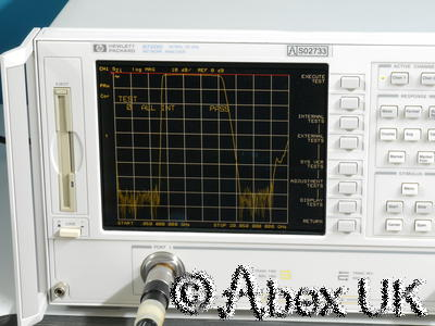 HP (Agilent) 8720D 20GHz Vector Network Analyser Option 400 NICE