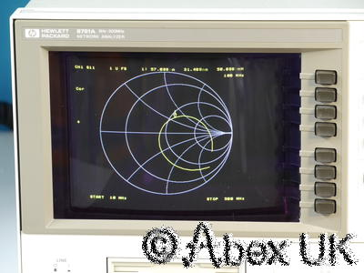 HP (Agilent) 8751A VNA (Vector Network Analyser) 5Hz - 500MHz