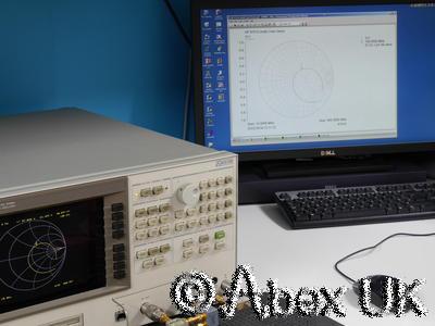 HP (Agilent) 8751A VNA (Vector Network Analyser) 5Hz - 500MHz