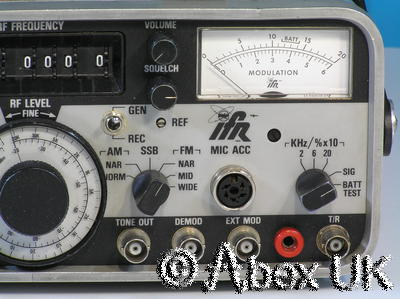 IFR (Aeroflex) 500A Radio Test Set, Portable.