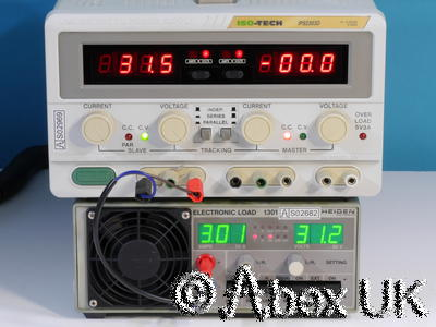Iso Tech IPS2303D Triple Output Power Supply 0-30V 0-3A 5V 3A